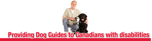 Providing Dog Guides to Canadians with Disabilities